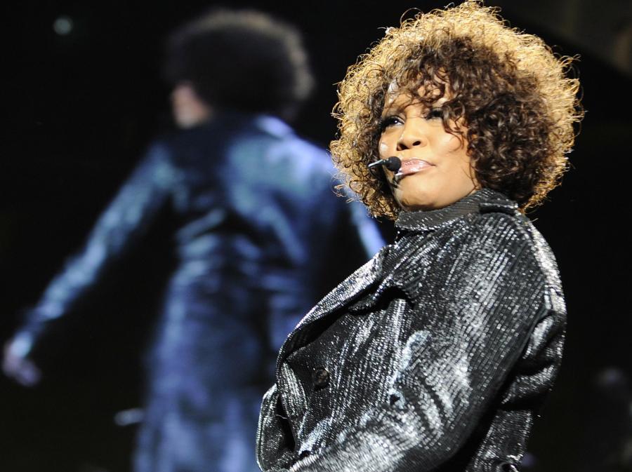 Whitney Houston w Hanoverze, maj 2010