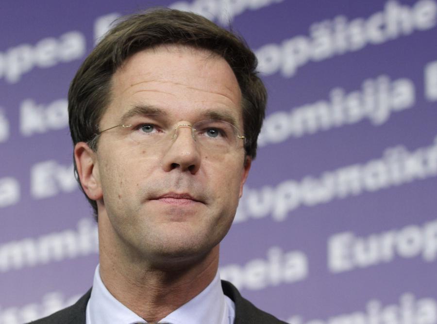 Mark Rutte premier Holandii