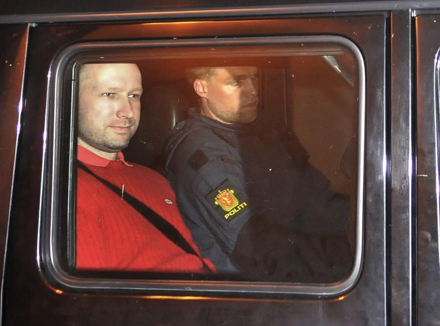Ander Breivik ujawnił listę śmierci. Ofiar miało być więcej...