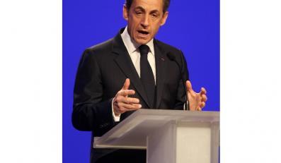 Prezydent Francji Nicolas Sarkozy