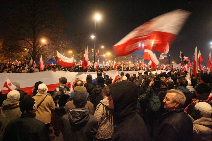 Marsz Niepodlegości w Warszawie - 11 listopada ubiegłego roku