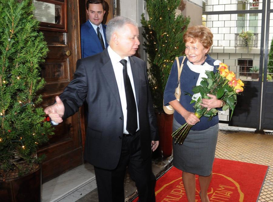 Zyta Gilowska i Jarosław Kaczyński