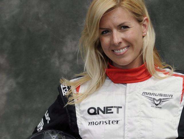 Piękna twarz Formuły 1, Maria De Villota