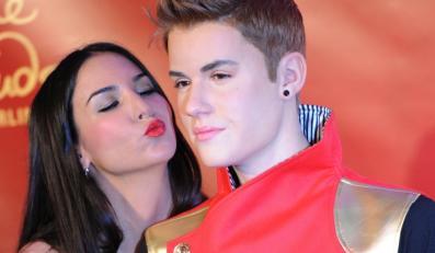 Justin Bieber w ramionach niemieckiej aktorki Sili Sahin
