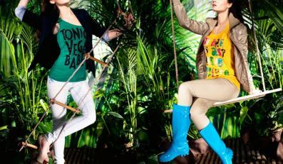 Honorata Skarbek w kampanii marki Moodo na sezon wiosna/lato 2012
