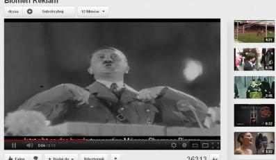 Hitler reklamuje szampon. Tureccy Żydzi oburzeni