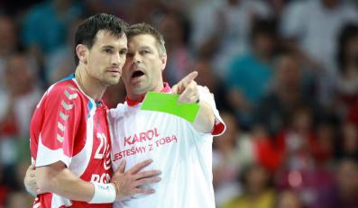 Marcin Lijewski i Bogdan Wenta