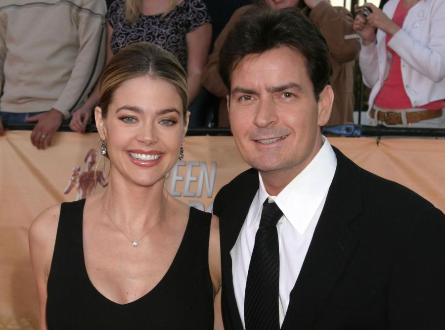 Denise Richards i Charlie Sheen