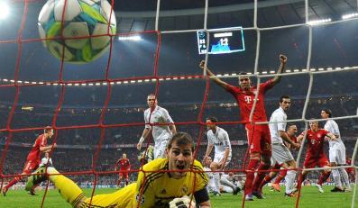 Piłka w bramce Realu Madryt