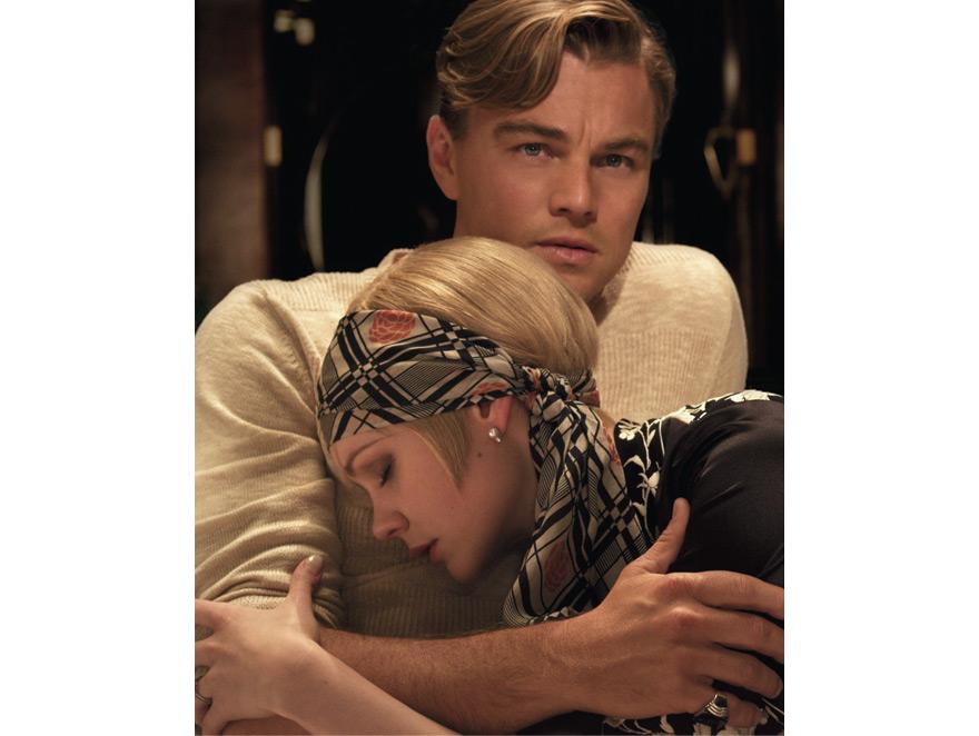 Leonardo DiCaprio i Carey Mulligan w filmie \