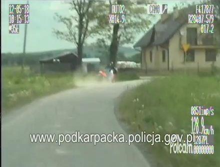 Kadr z policyjnej kamery