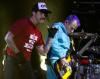 Red Hot Chili Peppers na lotnisku Bemowo