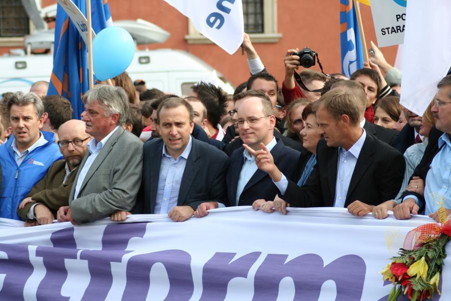 Liderzy Platformy Obywatelskiej