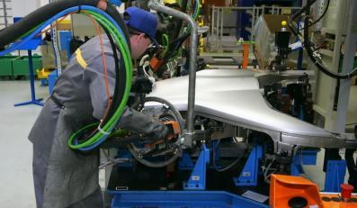 Produkcja w fabryce