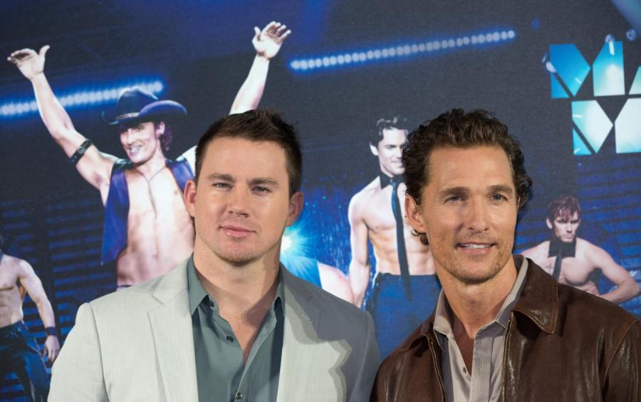 Channing Tatum i równie ładny Matthew McConaughey