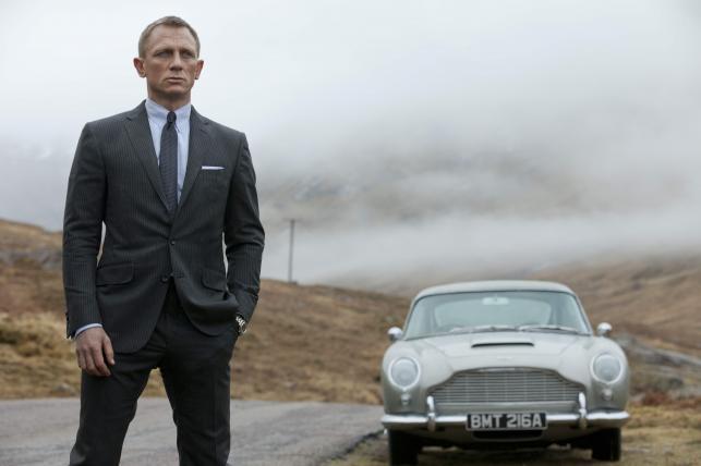 """Daniel Craig w """"Skyfall"""""""