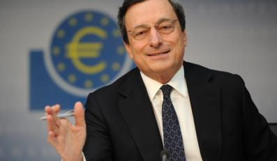 Szef Europejskiego Banku Centralnego Mario Draghi