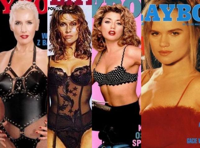 """Tak kiedyś wyglądały polskie gwiazdy na okładkach """"Playboya"""""""