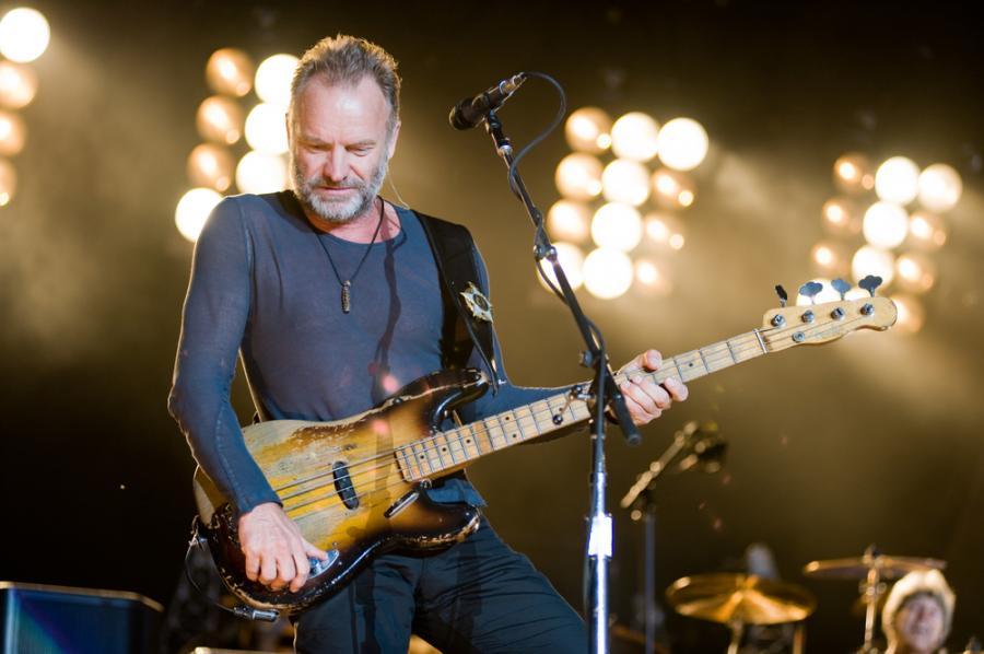 Sting wraca z gitarą basową do Polski