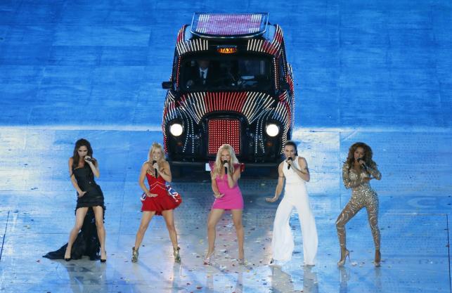 Spice Girls na uroczystym zakończeniu Olimpiady w Londynie