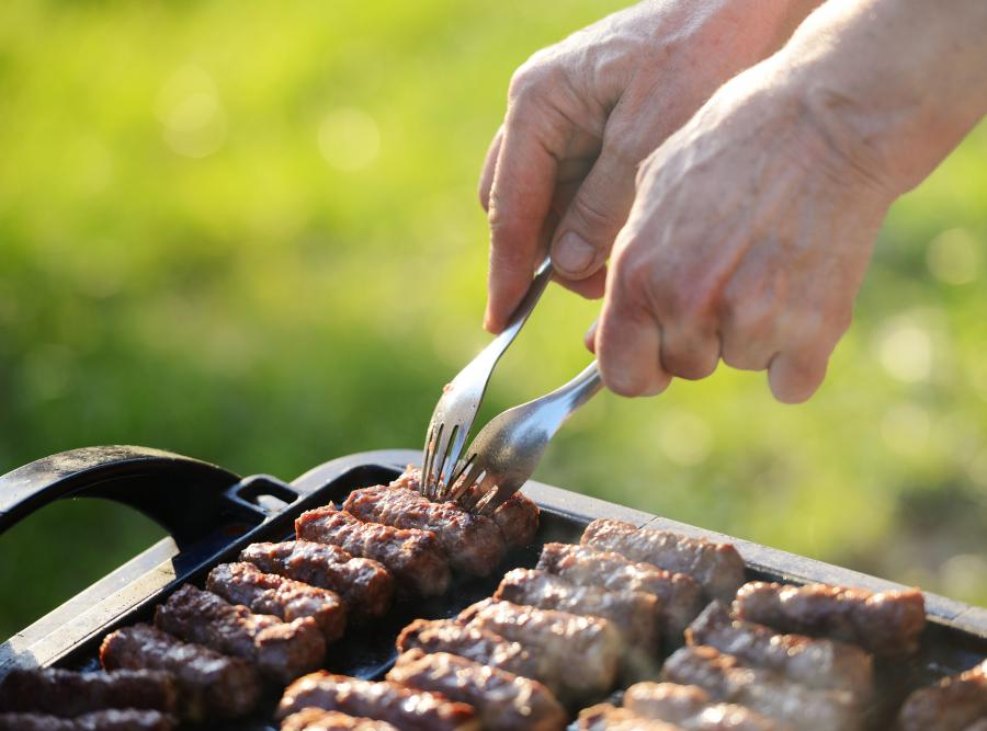 grill mięso