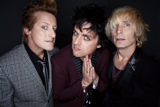 Billie Joe Armstrong z kolegami z Green Day