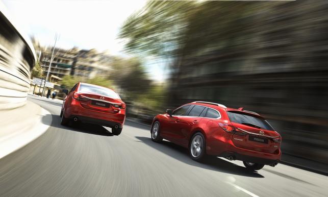 Mazda 6 kombi i sedan