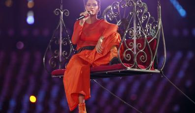 Rihanna wystąpiła na ceremonii zamknięcia Paraolimpiady w Londynie
