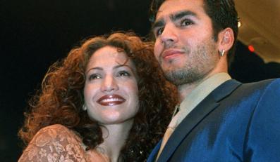 Jennifer Lopez i jej mąż Ojani Noa w 1997 roku