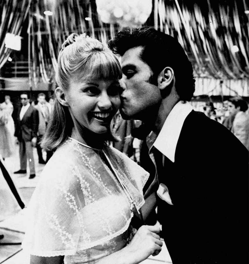 John Travolta i Olivia Newton-John z czasów \
