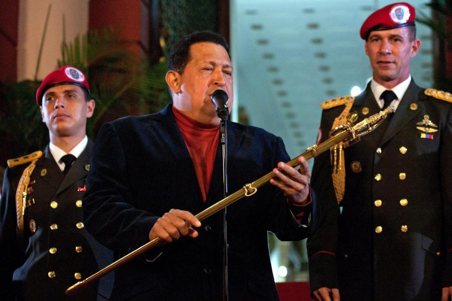 Prezydent Wenezueli, Hugo Chavez