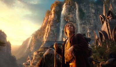 """Martin Freeman jako Bilbo Baggins w filmie """"Hobbit: Niezwykła podróż"""""""