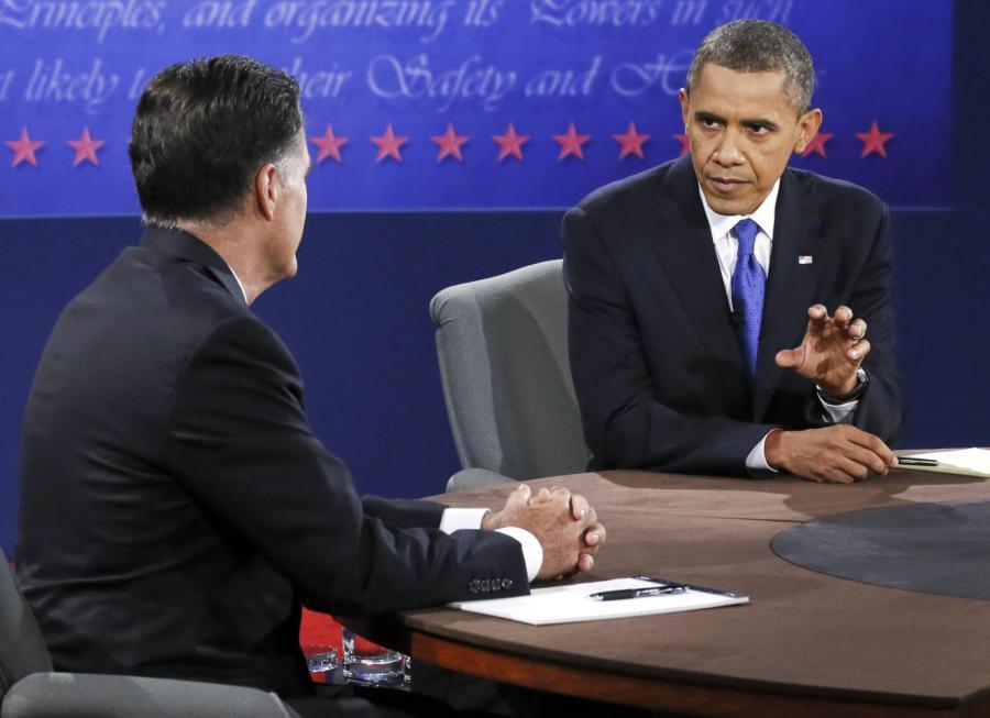 Barack Obama kontra Mitt Romney