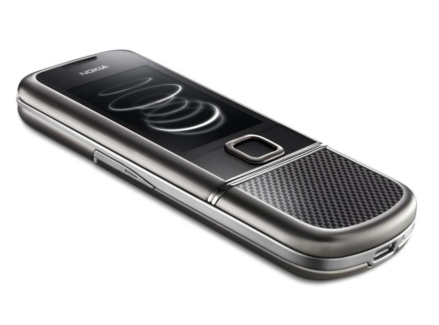 Nokia 8800 z tytanu, szkła i stali