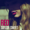 "Taylor Swift na okładce albumu ""Red"""