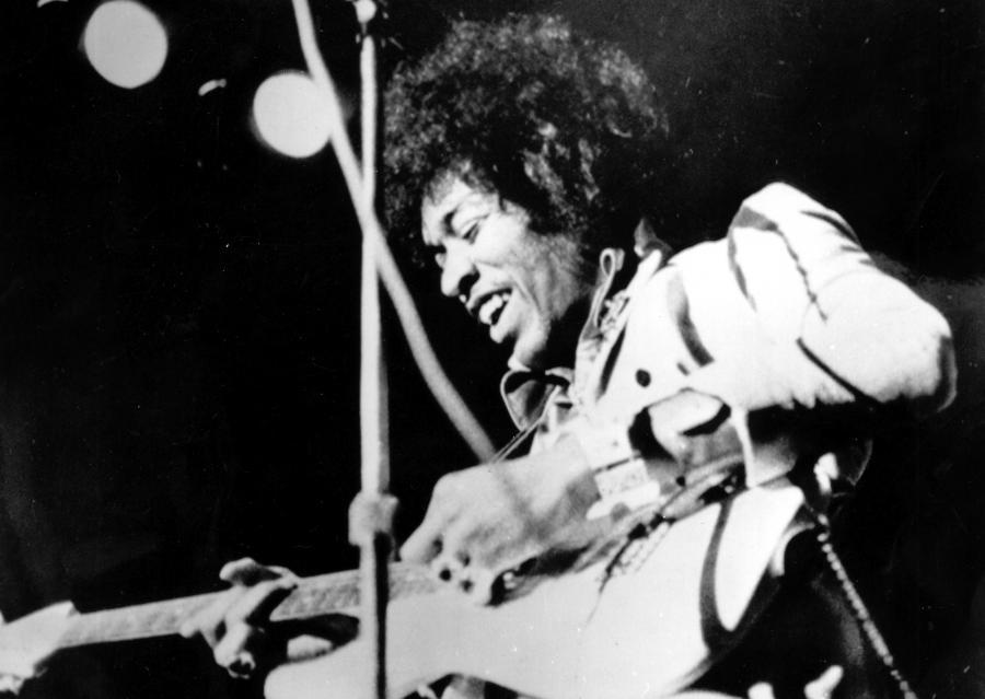 Jimi Hendrix w 1970 roku