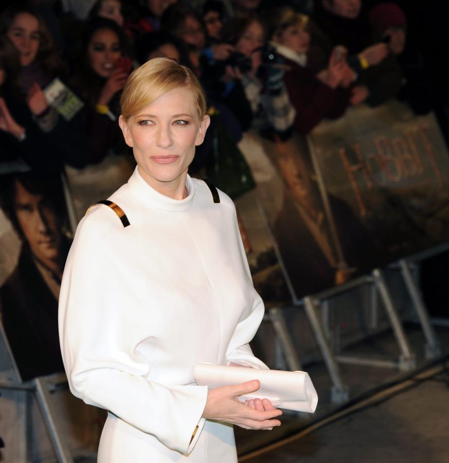 Cate Blanchett na premierze \