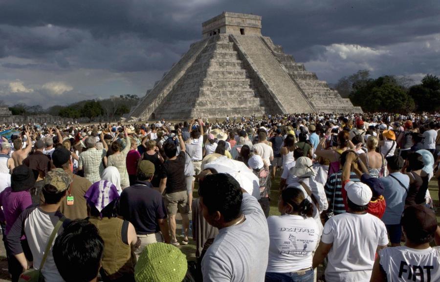 Chichen Itza miasto Majów przywitało koniec świata