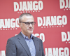 "Christoph Waltz podczas promocji filmu ""Django"""
