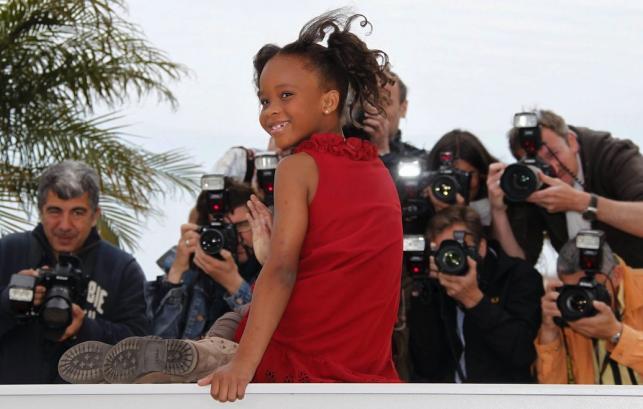 Quvenzhane Wallis na festiwaly w Cannes