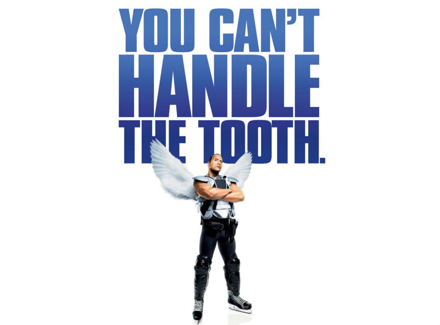 Dwayne Johnson jako zębowa wróżka