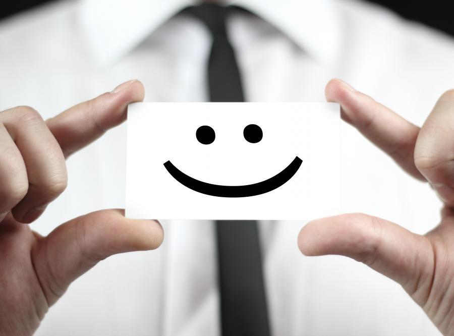 Szczęśliwy pracownik