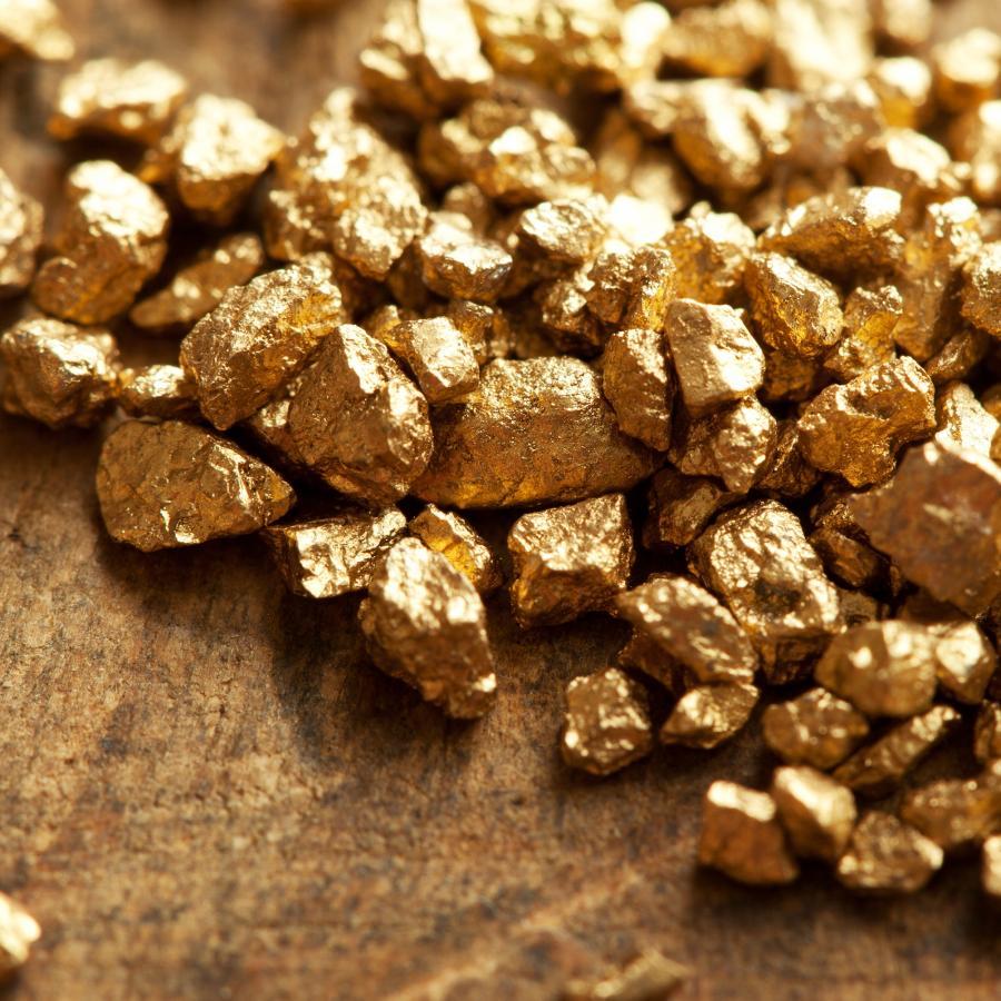 grudka złota