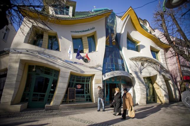Krzywy domek w Sopocie
