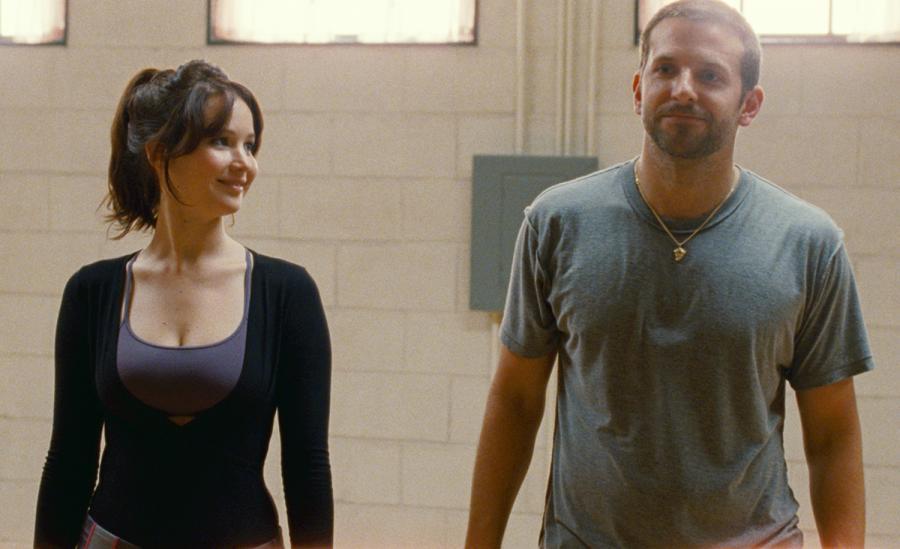 Jennifer Lawrence i Bradley Cooper w \