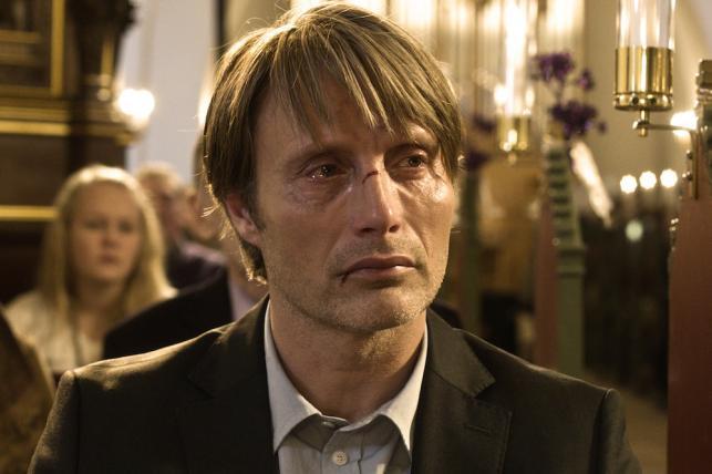 """Mads Mikkelsen w filmie """"Polowanie"""""""