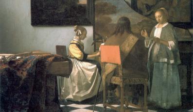 "Johannes Vermeer ""Koncert"""