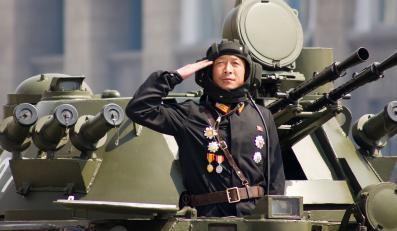 Parada wojskowa w Korei Północnej