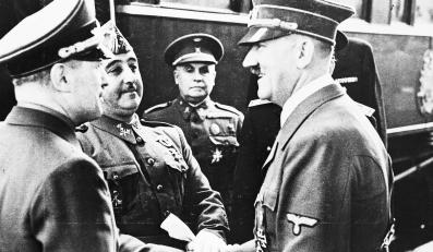 Generał Franco i Adolf Hitler