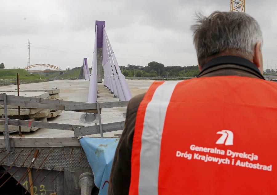 Mszana - most w biegu autostrady A1